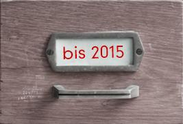 Archiv bis 2015