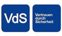 Logo des VdS Vertrauen durch Sicherheit