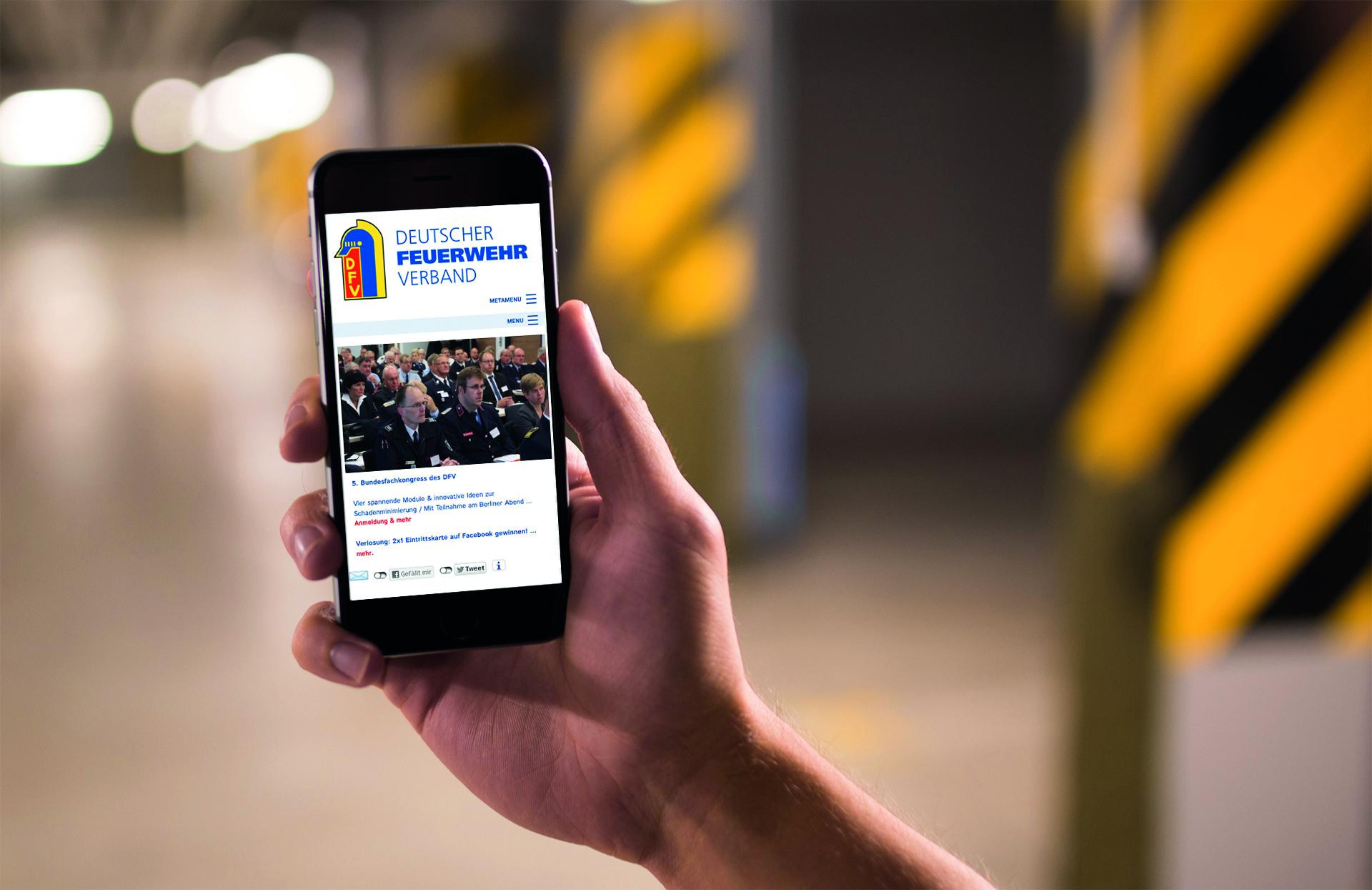 App Deutscher Feuerwehrverband